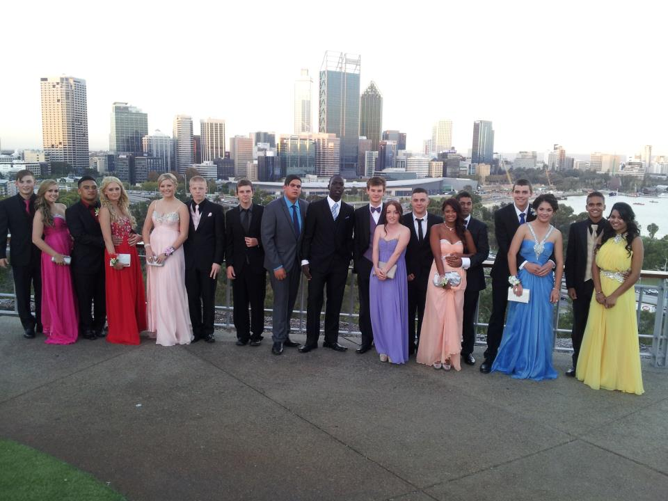 School Ball at Clydes Party Bus