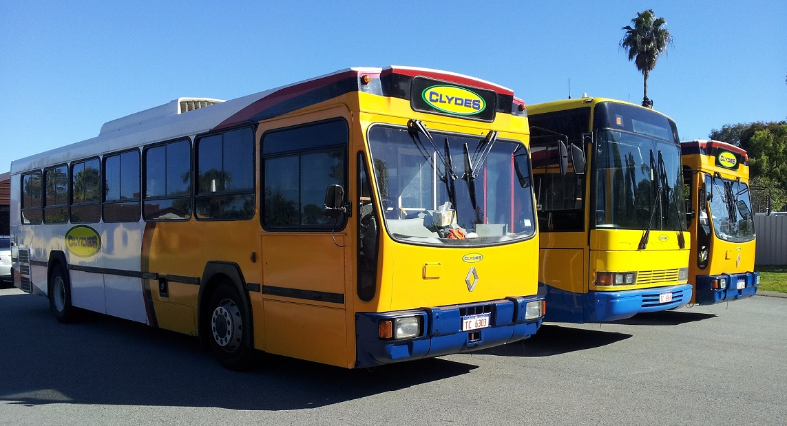 Clydes Party Bus hire Perth